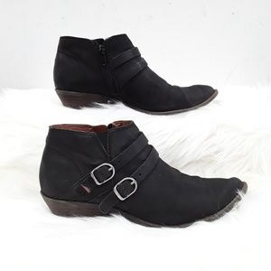 Lucky Brand Black Jacquii ankle Bootie boots 6.5